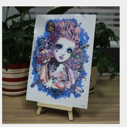Wholesale Temporary Tattoos For Feet - T-09 Transfer temporary tattoo Sticker tatoos body tattoo popular skin tattoo stickers for free shipping!