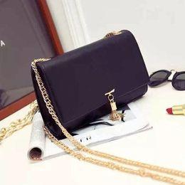 Wholesale Evening Bags Hot Pink - Hot Sale Brand Handbag Women Clutch Evening Bag Leather Chain Shoulder Bag Fashion Messenger Bags Purse