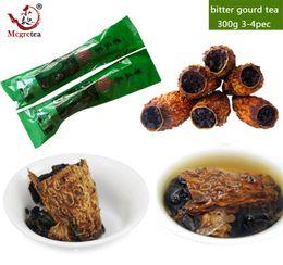 Té de pera online-[Mcgretea] 300g Balsam Pear tea kugua Anxi corbata kuan yin tea oolong tea amarga exquisita + regalo Envío gratis