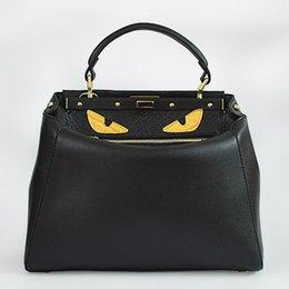 Wholesale Top Designer Handbags Crocodile - ladies monster bags handbags women famous brands crocodile bag leather top-handle bag luxury designer shoulder crossbody F bolsas