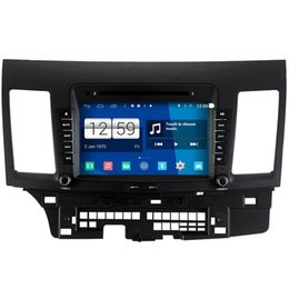 Wholesale Gps For Lancer - Winca S160 Android 4.4 System Car DVD GPS Headunit Sat Nav for Mitsubishi Lancer 2007 - 2013 with 3G Radio Wifi Tape Recorder