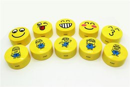 Wholesale Smile Speakers - HY-BT25 Smile Stereo Bluetooth Speakers Portable Mini Wireless Subwoofer Lovely Smile Faces Mp3 Music Player handsfree