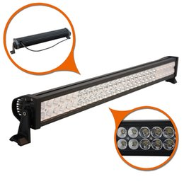 Wholesale 4x4 Vehicles - 32 INCH 180W LED WORK LIGHT BAR Straight Spot Flood Combo Beam Driving Lamp For Offroad Vehicles Truck 4X4 4WD Camper Trailer SUV 10-30V