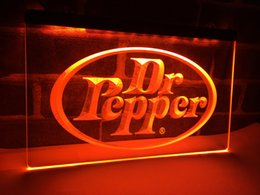 Wholesale Product Places - LE070y- Dr Pepper Gifts Product Pub Bar LED Neon Light Sign