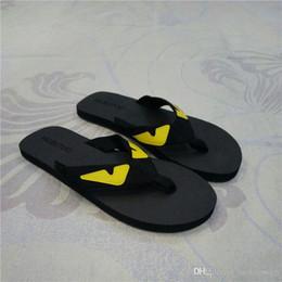 Wholesale Shoe Sandals For Men - 2017 Eye Monster Summer mens womens shoes flip flops for men beach slippers men sandals 36-44
