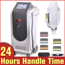 Wholesale Water Cooled Air - Safety Hair Removal Skin Rejuvenation Sun Spots Pigment Removal IPL RF E-light Beauty Equipment With Air And Water Cooling Circulation