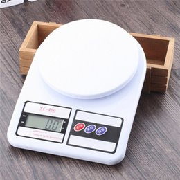 Wholesale electronic kitchen baking - Scale Kitchen Digital Electronics Kitchen Scales Balance Household Food Electronics Balance digital Baking 10 kg Portable LCD Digital