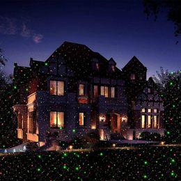 Wholesale Sky Spotlights - Wholesale-Waterproof led laser light Christmas Lawn Light Sky Star Projector Landscape Stage Spotlight Park Garden Xmas Decoration