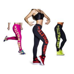 signora sportiva nuda Sconti Leggings sportivi da allenamento per donna Pantaloni sportivi da allenamento con stampa di lettere a forma di teschio con stampa laterale