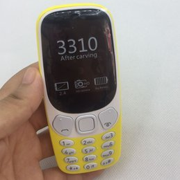 Wholesale 3310 Button function Phone Cell Phone GSM Dual Band Games Unlocked Cheap phone noka