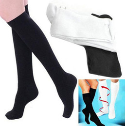 Wholesale Compression Socks Stockings - 2017 New High Quality Miracle Socks Anti Fatigue Compression Stocking Sock Leg Warmers Slimming socks Calf Support Relief socks