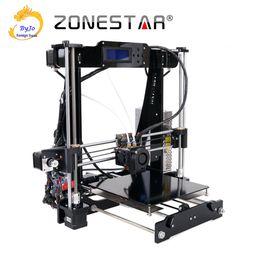2019 repus prusa i3 kit 3D Drucker Dual Extruder Zwei Farbe Auto Leveling Reprap Prusa i3 3D Drucker DIY Kit ZONESTAR P802N oder P802NR2 günstig repus prusa i3 kit