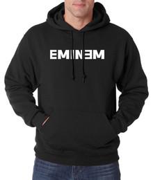 Wholesale Eminem Sweatshirts - Wholesale- Marshall Bruce Mathers Hoodies E Eminem sweatshirt men 2017 spring winter new Eminem hoodie hip hop men fashion sudadera hombre