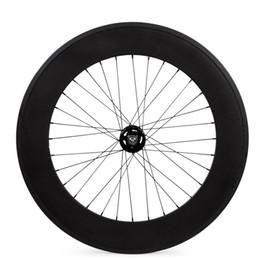 Колеса 88mm фиксированной шестерни углерода задние катят ширину Wheelset 25mm следа 700C колес от