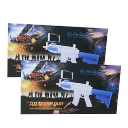 Wholesale Wholesale Long Guns - AR-GUN VR Game Augmented Reality Shooting Games Smart Phones Bluetooth Control Toy Gun Long Style