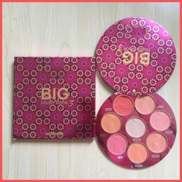Wholesale Big Naturals - Free Shipping by ePacket New Makeup Face Brand BIG Blush BOOK 3 blush palette 8 colors Blushes & Highlighter Limited Edition