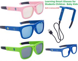 Wholesale Reading Glasses For Kids - Smart glasses Kids Glasses Reading Glasses samll cameraman learning smart for school students children Kids