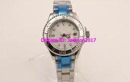 Wholesale womens classic watch - Silver Stainless Dial Silver Stainless Belt Classic Whatches White Pointer Watch Womens Fashion Wrist Watches