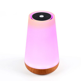 Wholesale Control Super - Bluetooth LED Light Speaker S16A Ring Super Mini Portable Beat Hi-Fi Bluetooth Handfree Smart Phone Control the Bulb Color