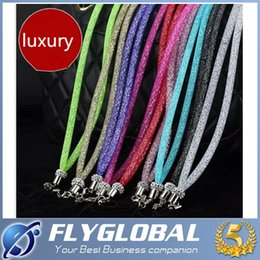 Wholesale Long Lanyards For Cell Phones - Luxury Bling Glitter Phone Lanyard Straps Fashion Jewelry Shiny Crysta Cell Phone Charms Colorful Long Neck ID Cards Mobile Bag Rope Chain