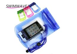 Wholesale Beach Arms - Wholesale-Portable Lightweight Waterproof Pouch Swimming Beach Dry Bag Case Cover Cell Phone Arm Running Pool Accessories Band Water Cover