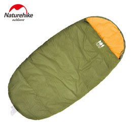 Wholesale Red Light Sleep - Wholesale- Naturehike 230 X 100cm (L) Thin Spring Autumn sleeping bag Outdoor Ultra-light Blue Green Red Hiking Cotton