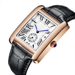 ottone Sconti 2016 Hot Top Luxury Casual moda uomo da polso da polso in pelle al quarzo negli orologi business