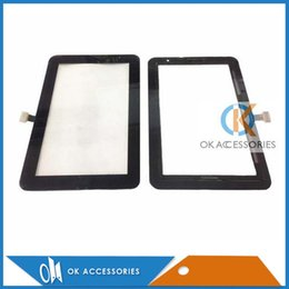 Wholesale Digitizer For S4 - For Samsung P3110 Black And White Touch Screen Digitizer 20PC Lot
