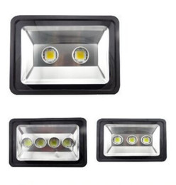 Wholesale Boat Led Fishing Lights - 200W 300W 400W led Floodlight Outdoor LED Flood light lamp waterproof LED Tunnel Fishing boats light street lamps AC 85-265V MYY