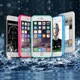 Wholesale Tpu Smartphone Case - Waterproof Case TPU Rubber Full Boday Cover For smartphone android phone Shock-proof Dust-proof Underwater Diving Cases