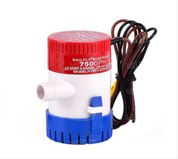 Wholesale Submersible Pressure Pump - 750GPH 12V Electric Submersible Bilge Silent Water Pump For Fishing Marine Boat