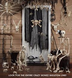 lila partei gläser Rabatt Neues design fantasie leben spaß knochenskelett - bat bone home halloween party dekoration