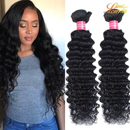 Wholesale Queens Hair Products Deep Wave - Malaysian Deep Wave Queens Hair Products 100% Unprocessed Human Hair Extensions Dyeable Human Hair Weaves Great Quality Wholesale Price