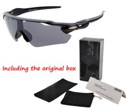 Wholesale Adult Bicycles - 2017 Holbrook brand sunglasses men women with Original Box new fashion men's Bicycle sun glasses Sports cycling goggles driving glasses