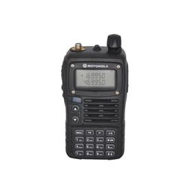 Wholesale Portable Walkie Talkie Uhf Vhf - SMP Clarigo 818 Walkie Talkie VHF UHF Dual Band Portable CB Radio LED Flash FMRadioReceiver Intercom Alarm Ham Radio