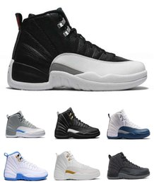Wholesale Cheap Toe Shoes For Sale - WITH BOX 2016 retro 12 Basketball Shoes Men original athletics Sneakers Boots retro Weaving retro 11 Boots Cheap online for sale us 7-12