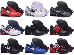 Wholesale 12 Mens Boots - New arrival Drop Shipping Famous Shox NZ Shox Avenue Mens Athletic Sneakers Sports Running Shoes Size 7-12