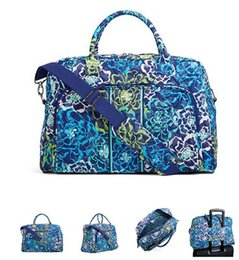 Wholesale Red Navy Tote - VB Weekender Travel Bag Capacity travel bags shoulder duffel bags carry on luggage keepall