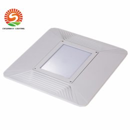 Wholesale Free Garages - Free shipping 5 years warranty UL CUL DLC approval 110W led gas station canopy lights lamp 110-277V warehouse garage IP65 led outdoor light