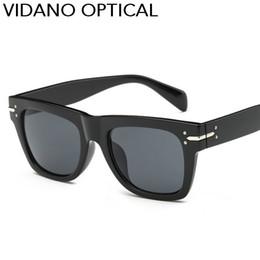 Wholesale Party Sunglasses - Vidano Optical Party Fashion Square Sunglasses For Men & Women Glasses Designer Brand Sun Glasses Summer Vintage Style UV400