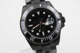 Wholesale Men Luxury Automatic Watch Sub - AAA top men luxury luxury 40mm, sUB automatic professional diving, black 116610 watches, original watch buckle, ceramic watch ring, sapphire