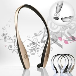 Wholesale Ear Buds Bluetooth Headsets - HBS-900 Bluetooth Wireless headphone,Luxury HBS900 Sports in-Ear buds bluetooth neckband headsets for Smart Phones Free DHL