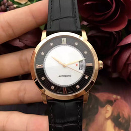 Wholesale Top Brand Divers Watches - Men's watches free shipping sale hot top brand high-grade watch crime automatic watches steel silver diving watches
