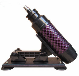 A-05 Alta Calidad Barato Femenino Y Masculino Dispositivos de Masturbación Automáticos Potentes Juguetes de la máquina del sexo Retráctil envío gratis desde fabricantes