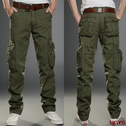 Wholesale Bigger Sizes - Wholesale- 2017 men overalls leisure accented straight Men's trousers are bigger sizes