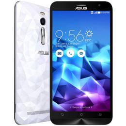 Wholesale Deluxe 4g - ASUS Zenfone2 DELUXE ZE551ML 5.5 inch 4G Phablet Intel Atom Z3560 Quad Core 4GB RAM 16GB ROM 13.0MP