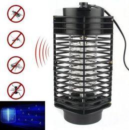 Wholesale Electronic Photocatalyst - Electronic Mosquito Killer Electronic Insect Killer Bug Zapper Trap Photocatalyst Fly Zapper UV Night Light Trap Lamp CCA6559 50pcs