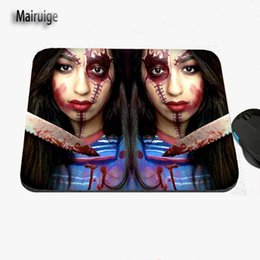 Wholesale Ghosts Games - Horror Movie Ghost Bride and Her Husband Professional Printing Custom Laptop Fashion Non-slip Rubber Rectangular Game Mouse Pad