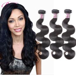 Wholesale One Brazilian Bundle - BD Body Wave Human Hair Extension Brazilian Human Hair 3 4 Bundles One Set Human Hair Weaving
