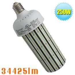 Wholesale mh hps bulbs - 250W led corn bulbs replace 1000W HPS MH E39 E40 6500K led corn lamp retrofit high bay fixture light bulbs in warehouse workshop